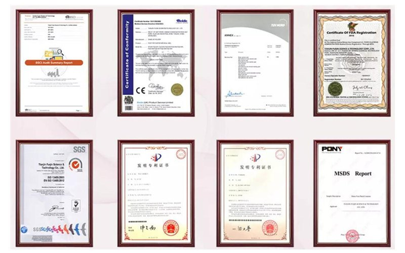 steam heated eye mask factory certificates
