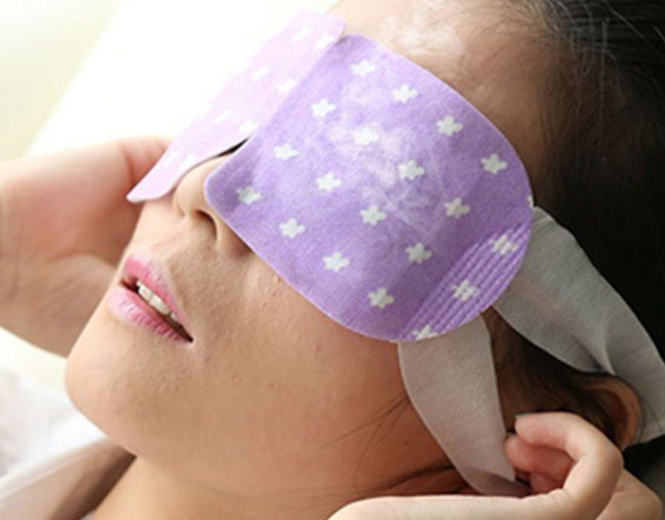 warming eye mask factory